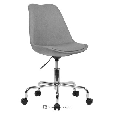Gray office chair lenka (skyport) (whole, in box)