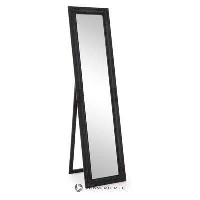 Juodas grindų veidrodis miro (bizzotto) (su trūkumais, salės pavyzdys)