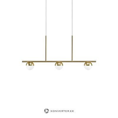 Gold-white pendant light contina (nordlux)