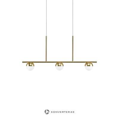Золотисто-белый подвесной светильник contina (нордлюкс) (бракованный холл образец)