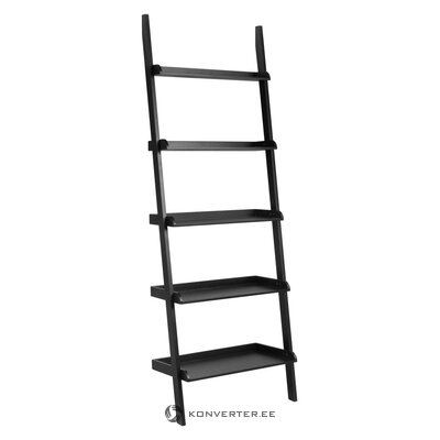 Black ladder shelf wally (actona) (in box, whole)