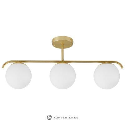 Светильник потолочный белый-золотой грант (нордлюкс)