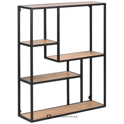 Brown-black wall shelf (actona) (whole, in box)