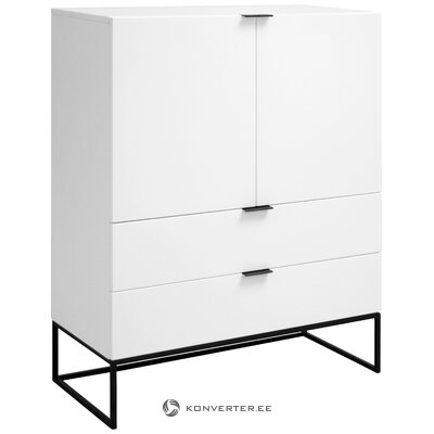 White-black chest of drawers (interstil dänemark)