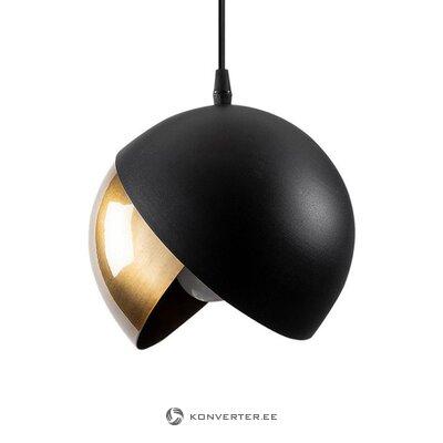 Must-Kuldne Väike ripatsilamp Berceste (Asir)
