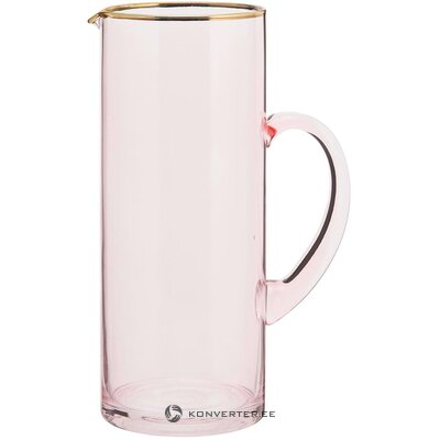 Klaasist Veekann Rosa (Ladelle)