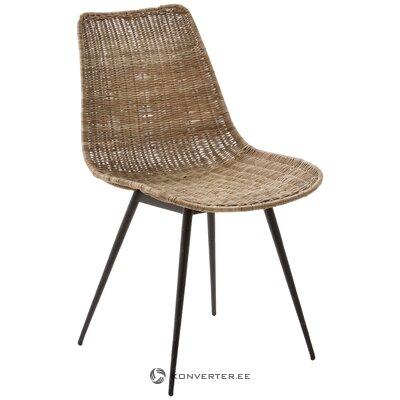 Коричнево-черный стул равный (la forma)
