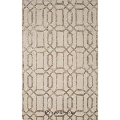 Harmaa matto kuviollisella vegaanilla (bakero)