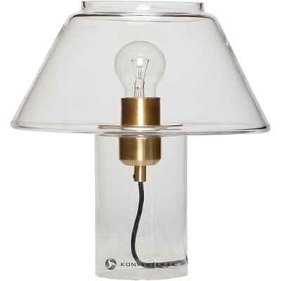 Настольная лампа из стекла (gluni)