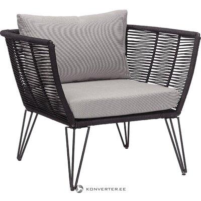 Juodojo dizaino sodo kėdė (bloomingville)