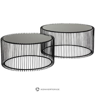 Metal coffee table set wire (rough design)