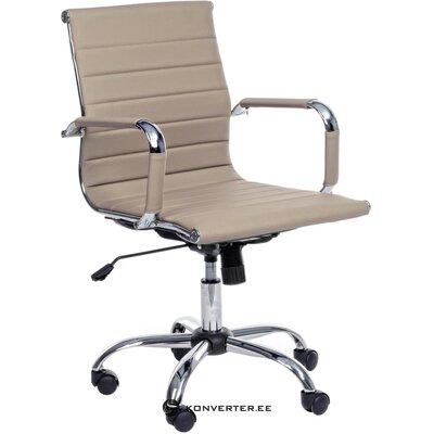 Smėlio spalvos biuro kėdė Praha (bizzotto)