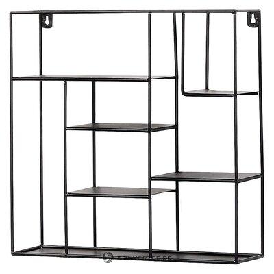 Black mini wall shelf nils (la forma)