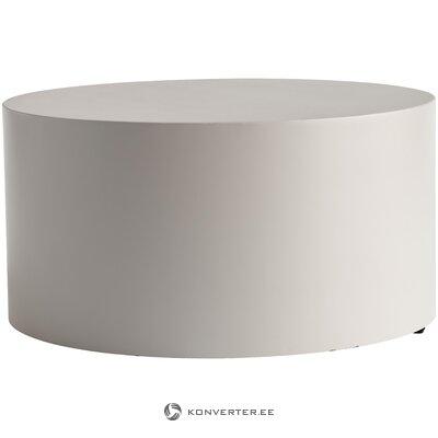 Журнальный столик серый metdrum (tine k home)