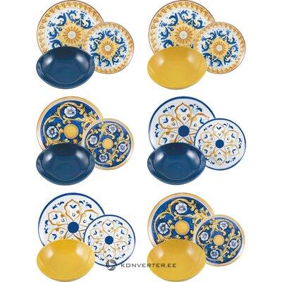 Dish set 18-piece sicily (villa d´este)