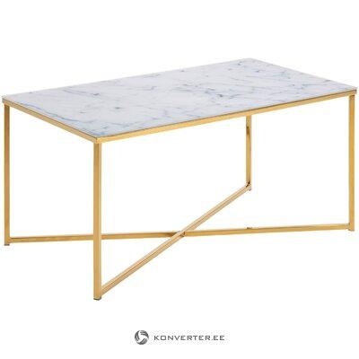 Marble imitation coffee table aruba (actona)
