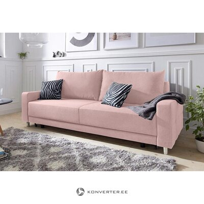 Pink sofa bed (whole, in a box)