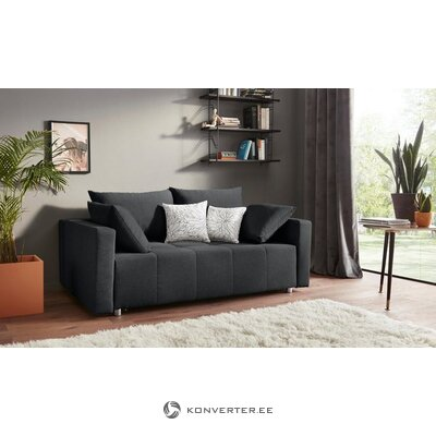 Anthracite sofa bed (whole, boxed)
