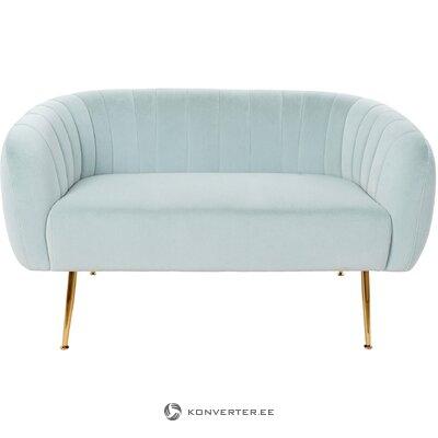 Aksominė sofa ara