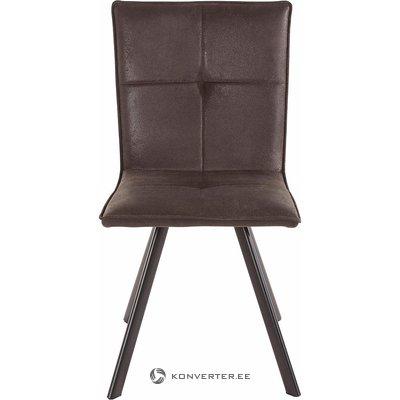 Antracito-juoda kėdė