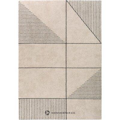 Šviesiai rudos spalvos raštuotas kilimas narvik (benuta)