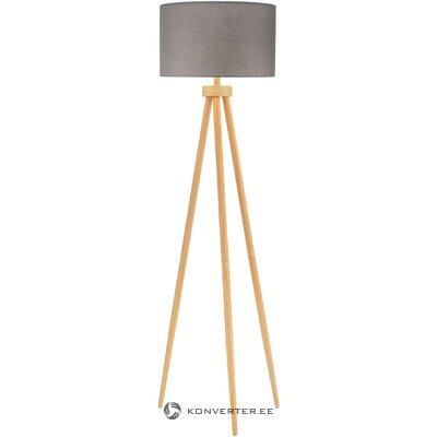 Brown-gray floor lamp grand (pauleen)