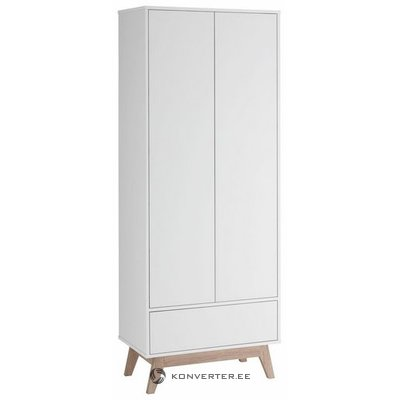 Small white wardrobe with drawer