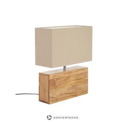 Dizaina galda lampa taisnstūrveida (aptuvens dizains)