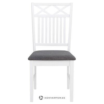 Valkoharmaa tuoli (fullerton) (kauneusvirheillä!, Salinäyte)