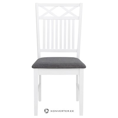 White-gray chair (fullerton)