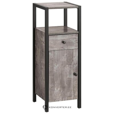 Gray-black bathroom cabinet (chris)