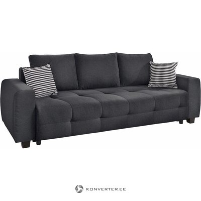 Dark gray sofa bed (whole, in box)