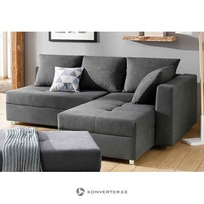 Gray sofa bed (whole, boxed)