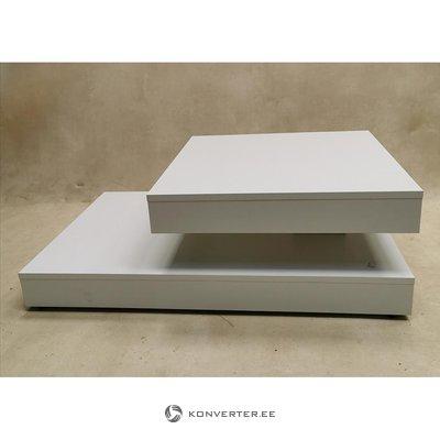 Balta pasukama sofa