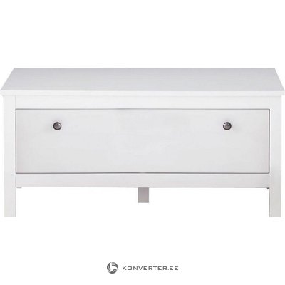 Small white cupboard (not) (with beauty flaws, hall sample)