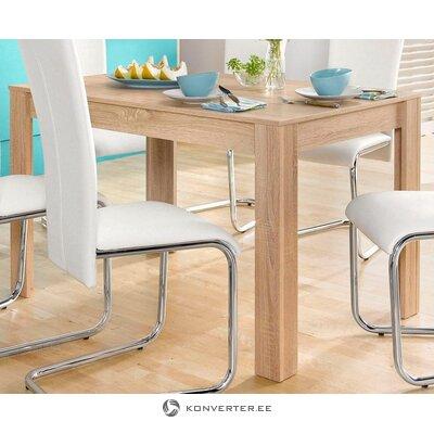 Стол обеденный светло-коричневый (120х80) (линн)