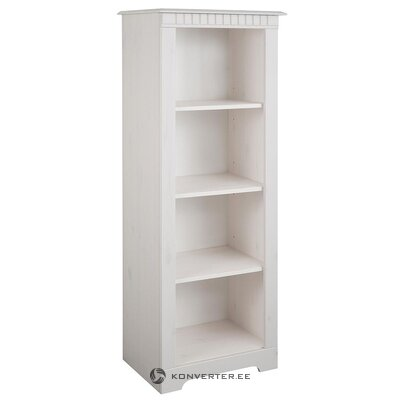 White cabinet with 3 shelves (whole, hall sample)