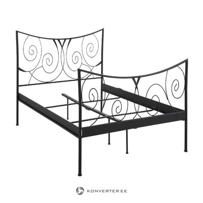 Isabelle bed 90 cm - Black