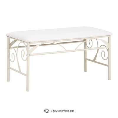 Isabelle Bench - White