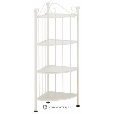 Isabelle corner shelf Small- white