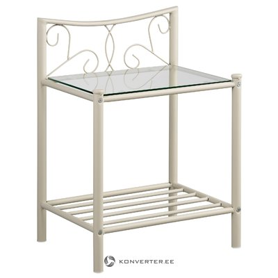 Isabelle bedside table - White