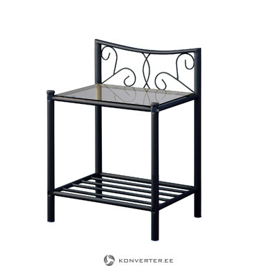 Isabelle bedside table - Black