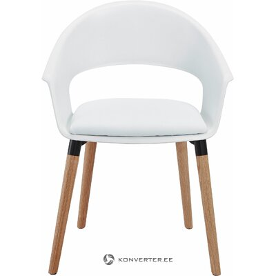 White design chair (whole)