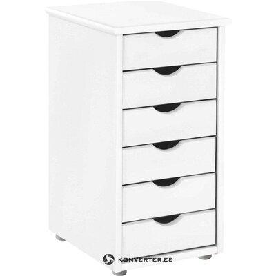 Шкаф с белыми ящиками (гава)