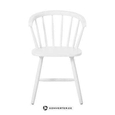 Guminė balta kėdė (jella & jorg) (su trūkumais salės pavyzdys)