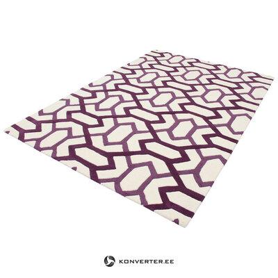 Värillinen villamatto (matto)