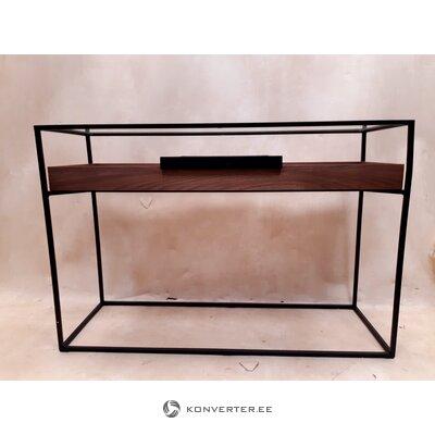 Valriekstu dizaina galds (zago) (paraugstaba, bojāta,)