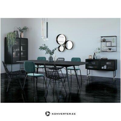 Стеклянный фасадный дизайнерский шкаф (zago)