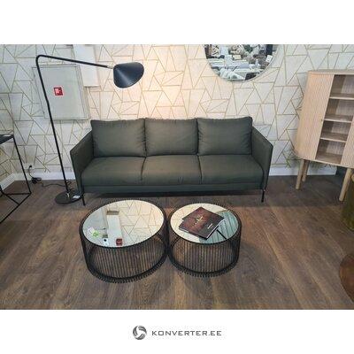 Žalia sofa