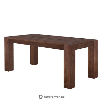 Aisha Table 220x100 - Brown